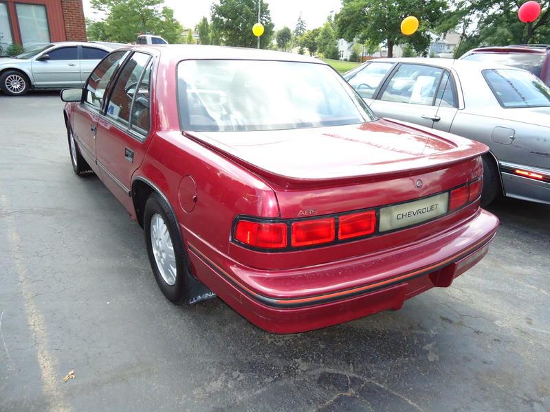 on 1992 Chevy Lumina Euro